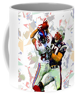 Coffee Mug featuring the painting Football 116 by Movie Poster Prints