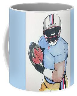 Football Player Coffee Mug by Loretta Nash