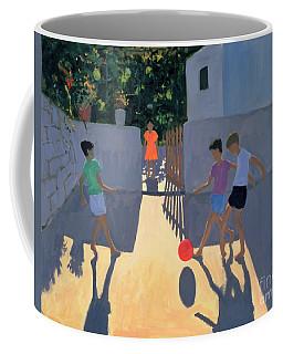 Footballers Coffee Mug