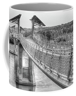 Footbridge At Terwillegar Park Coffee Mug