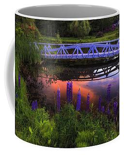 Footbridge Sunset Coffee Mug