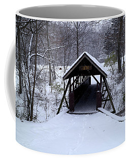 Coffee Mug featuring the photograph Footbridge To Wonderland by Scott Kingery