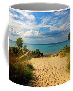 Footprints In The Sand P D P Coffee Mug