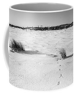 Footprints In The Snow I Coffee Mug