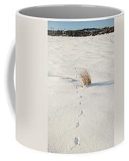 Footprints In The Snow II Coffee Mug