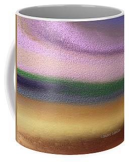 Footprints Coffee Mug by Lenore Senior