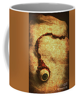 For A Bandaged Iris Coffee Mug