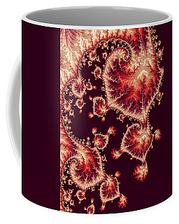 Coffee Mug featuring the digital art For Love Of Autumn by Susan Maxwell Schmidt