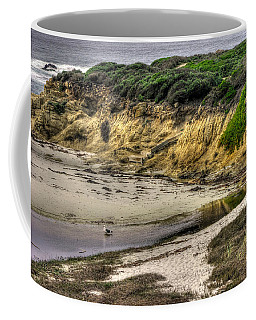 For Now I Prefer This Quiet Tidepool - 17-mile Drive, Monterey Peninsula - Central California Coast Coffee Mug by Michael Mazaika