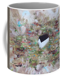 Coffee Mug featuring the painting For Sheila by Judith Rhue