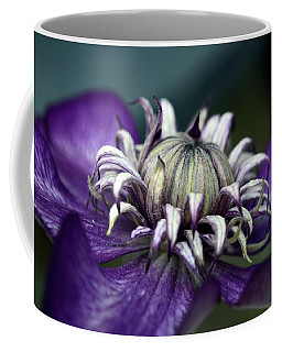 Coffee Mug featuring the photograph For The Love Of Purple by Ann Bridges