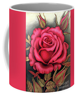 For You, The Red Rose Coffee Mug