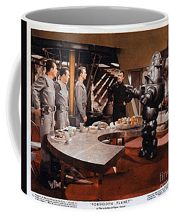 Forbidden Planet Amazing Poster Inside With Scientist Coffee Mug