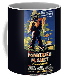 Forbidden Planet Amazing Poster Coffee Mug