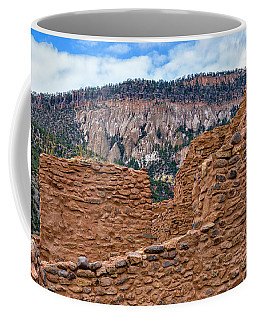 Forbidding Cliffs Coffee Mug