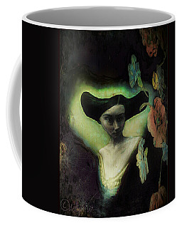 Coffee Mug featuring the digital art Force Field by Delight Worthyn