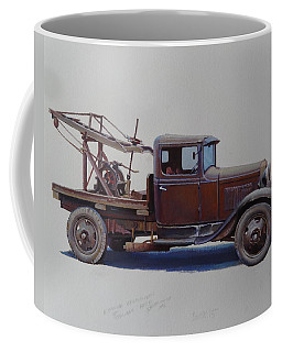 Ford A Type Wrecker. Coffee Mug by Mike  Jeffries
