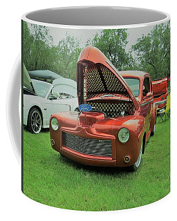 Coffee Mug featuring the photograph Ford Classic by Aaron Martens