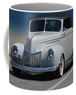 Coffee Mug featuring the photograph Ford Deluxe Convertible by Bill Dutting