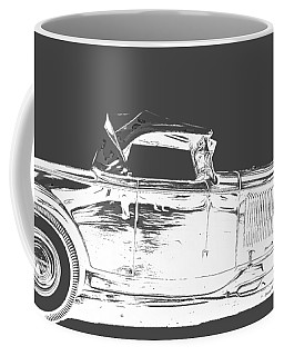 Ford Hot Rod Invert White Ink Tee Coffee Mug