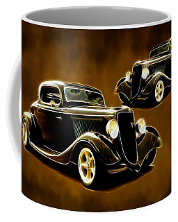 Coffee Mug featuring the photograph Ford In1934 by Steve McKinzie
