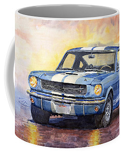 Ford Mustang Gt 350 1966 Coffee Mug