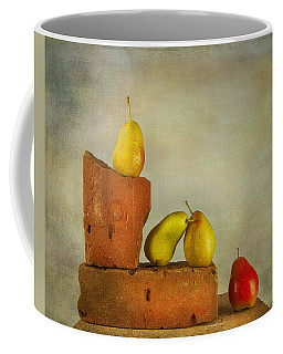 Coffee Mug featuring the photograph Forelle Pears by Theresa Tahara
