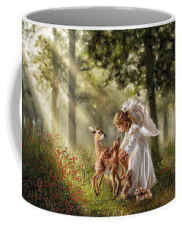 Forest Angel Coffee Mug