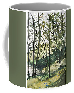 Forest By The Lake Coffee Mug