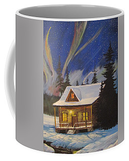 Forest Cabin Coffee Mug