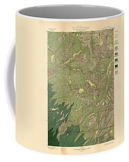 Forest Cover Map 1886-87 - Dardanelles Quadrangle - California - Geological Map Coffee Mug