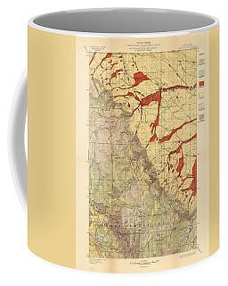 Forest Cover Map 1886-87 - Dayton Quadrangle - Wyoming - Geological Map Coffee Mug