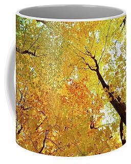 Forest Fall Yellow  Coffee Mug