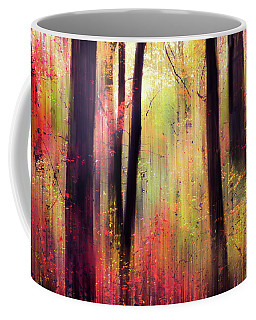 Coffee Mug featuring the photograph Forest Frolic by Jessica Jenney