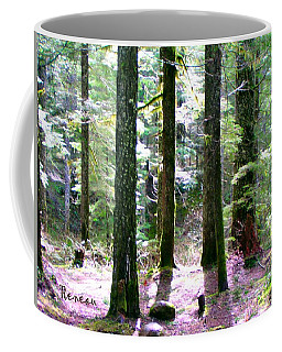Coffee Mug featuring the photograph Forest Giants by Sadie Reneau