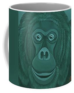Forest Green Orangutan Coffee Mug