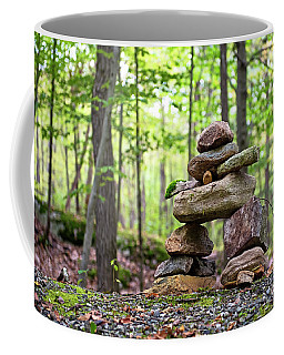 Forest Inukshuk Coffee Mug