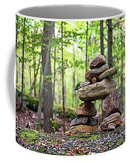 Forest Inukshuk Coffee Mug