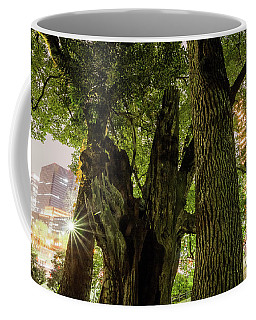 Coffee Mug featuring the photograph Forest Of Tokyo by Tatsuya Atarashi