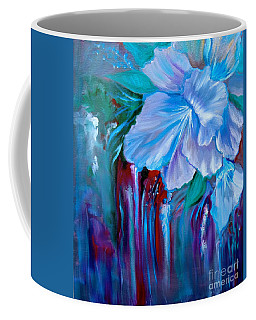 Coffee Mug featuring the painting Forest Orchid by Jenny Lee