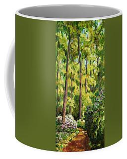 Forest Pathway Coffee Mug by Alexandra Maria Ethlyn Cheshire