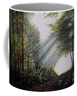 Forest Pathway Coffee Mug by Judy Kirouac