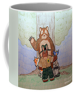 Forest Ranger Pony And Friends Coffee Mug