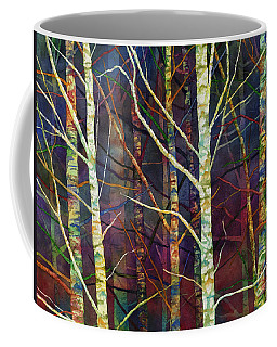 Coffee Mug featuring the painting Forest Rhythm by Hailey E Herrera