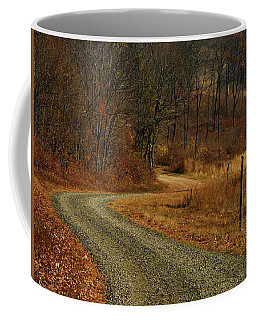 Forest Road Off At In Pa Coffee Mug by Raymond Salani III