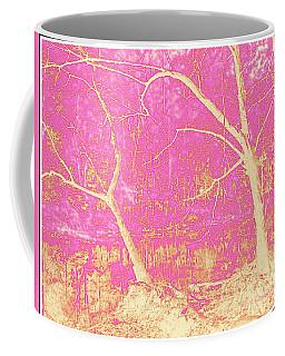 Forest Tapestry, Digital Art Coffee Mug