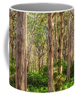 Forest Twilight, Boranup Forest Coffee Mug by Dave Catley