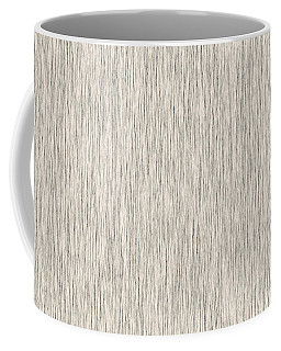 Textured Fiber  Wallpaper Coffee Mug by Charlotte Schafer