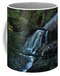 Forest Waterfall. Coffee Mug