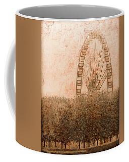 Paris, France - Forest Wheel Coffee Mug